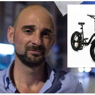 Bici rubata al consigliere comunale Alex Cioni. Era nuova, acquistata solo il giorno prima
