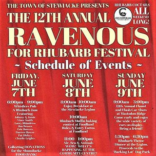 Ravenous for Rhubarb 2019
