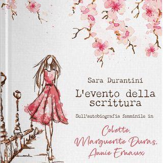 """Sara Durantini """"L'evento della scrittura"""""""