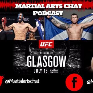 UFC Glasgow: The Fighters