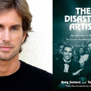 "ACTOR/WRITER GREG SESTERO OF ""THE ROOM"" , ""THE DISASTER ARTIST"" AND ""BEST F(R)IENDS""!"