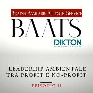 Leaderhip ambientale tra Profit e no-Profit