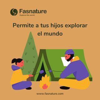 Permite a tus hijos explorar el mundo