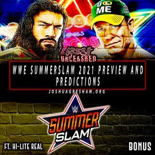 Cena vs. Reigns; Belair vs. Banks 2 | WWE Summerslam 2021 Preview & Predictions | Bonus