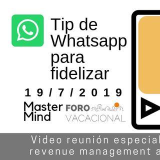 Tips de whatsapp  Mastermind 18 julio 2019
