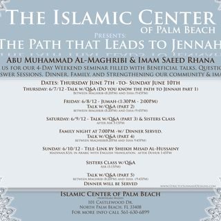 ICPB: The Path that Leads to Jannah