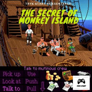 Spil 01 - The Secret Of Monkey Island