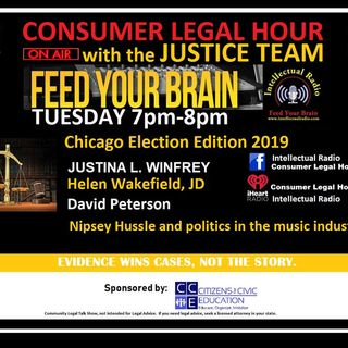 The Consumer Legal Hour/Chicago's 2019 Mayoral and Aldermanic Elections