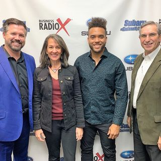 SIMON SAYS, LET'S TALK BUSINESS: Kelli Clay of Kelli Clay, Inc., Will Nobles of Vector Choice Technology Solutions, and Javier McIntosh of M