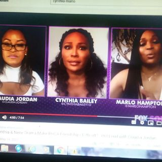 Cynthia Bailey / Marlo Hampton Talk About Nene/ Kenya With Claudia Jordan!!! Is Porsha And Kenya In The Same Type Of Relationship????
