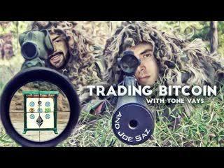 Trading Bitcoin w Joe Saz - Bitcoin Dominance Up Up & Away!