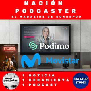 """. @PodimoSpain se puede """"ver"""" en @movistar_es, Creator Studio y Saludos cordiales complemento ideal para Reyes de la noche @ElSpeaker @marca"""