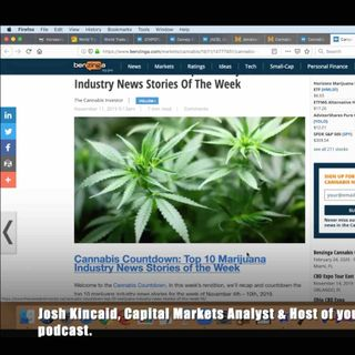 Top 10 Cannabis Industry Stories of the Week (2019)