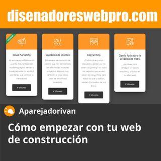 Cómo empezar con tu web de construccion