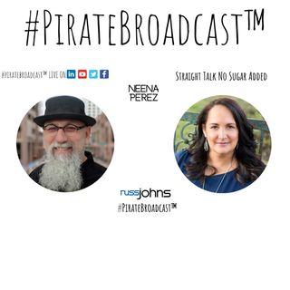 Catch Neena Perez on the #PirateBroadcast™