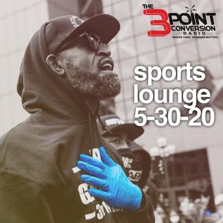 The 3 Point Conversion Sports Lounge- Responsibility Of The Athletes Voice, NBA Progression, Five Questions, BattleGrounds