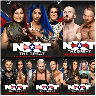 The Wrestling World, The Podcast: NXT The Great American Bash Noche 1