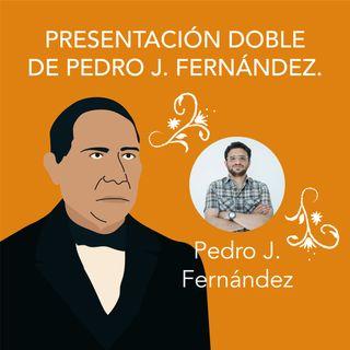 Presentación doble de Pedro J. Fernández