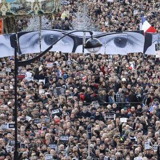 Dalla manifestazione di ieri a Parigi