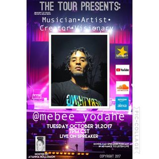 THE TOUR: SPECIAL GUEST MEBEE YODAHE