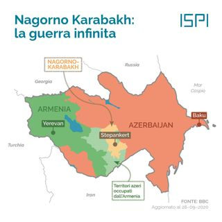 Nagorno Karabakh e la narrazione occidentale orientata (6nov2020)