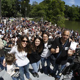 Analizamos las elecciones francesas y la GRAN FIESTA de La Cafetera en el Retiro .- #LaCafeteraDulceResaca