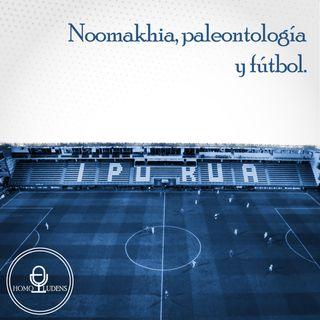 Noomakhia, paleontología y fútbol