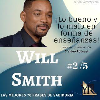 #2/5 Las 70 FRASES más poderosas de WILL SMITH