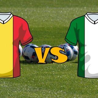 #bg Italia vs Belgio