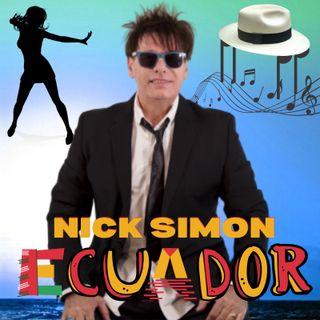Nick Simon presenta agli ascoltatori di Web Radio DNOR il brano Ecuador