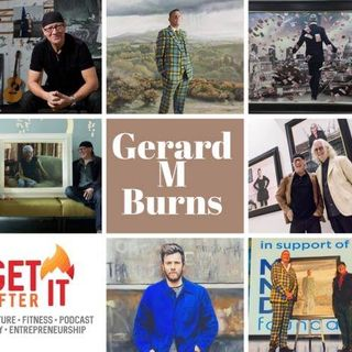 Episode 88 - with Artist Gerard M Burns