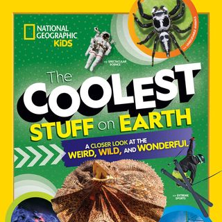 National Geographic's Shelby Lees discusses THE COOLEST STUFF ON EARTH on #ConversationsLIVE ~ @natgeo @ngkids #science #technology #sports