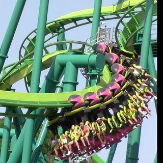 Cedar Point Raptor Head Kick Death!