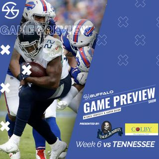 Buffalo Bills Tennessee Titans Preview Show Week 6 MNF