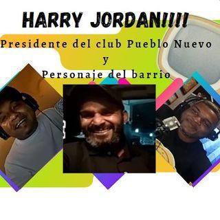 #16 Harry Jordan, presidente del Club Pueblo Nuevo y personaje social