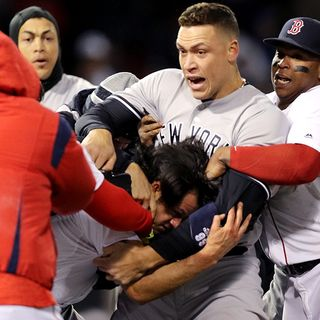Benches Clear At Fenway For Red Sox-Yankees Brawl