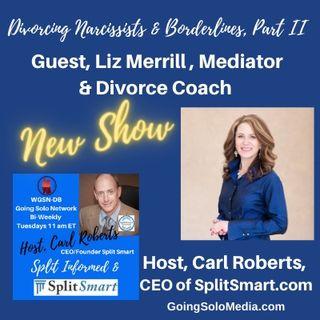 Divorcing Narcissists & Borderlines, Part II