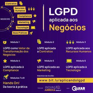 Curso Online - LGPD aplicada aos Negocios - Ao vivo