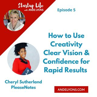 How to Use Creativity, Clear Vision and Confidence for Rapid Results