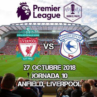 Liverpool vs Cardiff City en VIVO