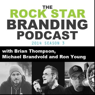 Ep. 84 Promoting by Not Promoting on the Rock Star Branding Podcast
