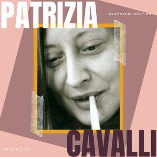 Mercoledì poetico - Ep. 20, Patrizia Cavalli
