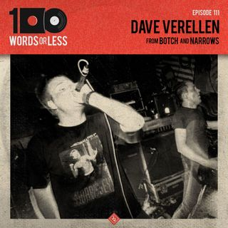 Dave Verellen from Botch/Narrows