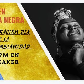 Conmemoración día de la afrocolombianidad con Manuél Zapata Olivella