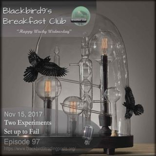 Two Experiments Set Up To Fail - Blackbird9 Podcast