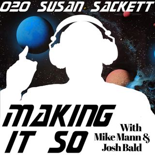 E020 - Susan Sackett has the inside track on Trek.