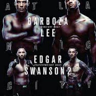 #UFCAC / #UFCFightNight128 Fight Picks