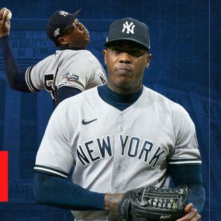 Aroldis Chapman y la derrota de los Yankees contra los Rays de Tampa