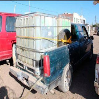 """Policías municipales y estatales de Hidalgo, aseguraron un parque vehicular """"huachicolero"""""""