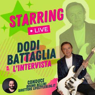 Dodi Battaglia presenta il nuovo album Inno alla musica